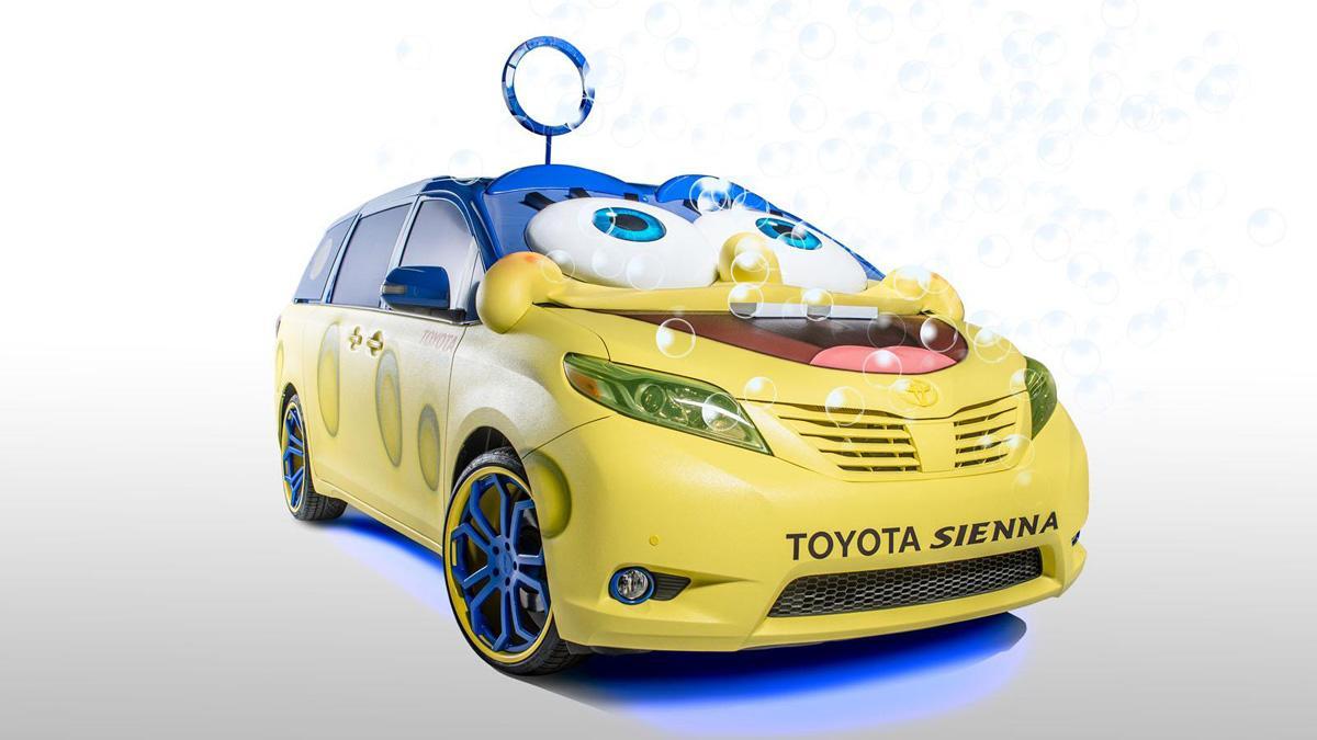 Toyota Sienna Bob Esponja