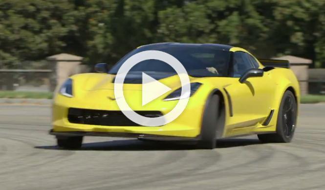 Vídeo: primera prueba del Chevrolet Corvette Z06 2014