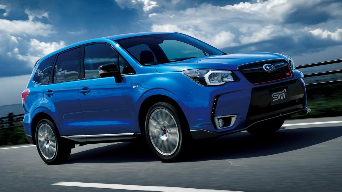Subaru Forester tS delantera