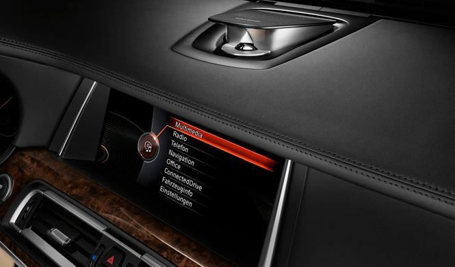 Cazado el nuevo sistema de conectividad i-Drive de BMW