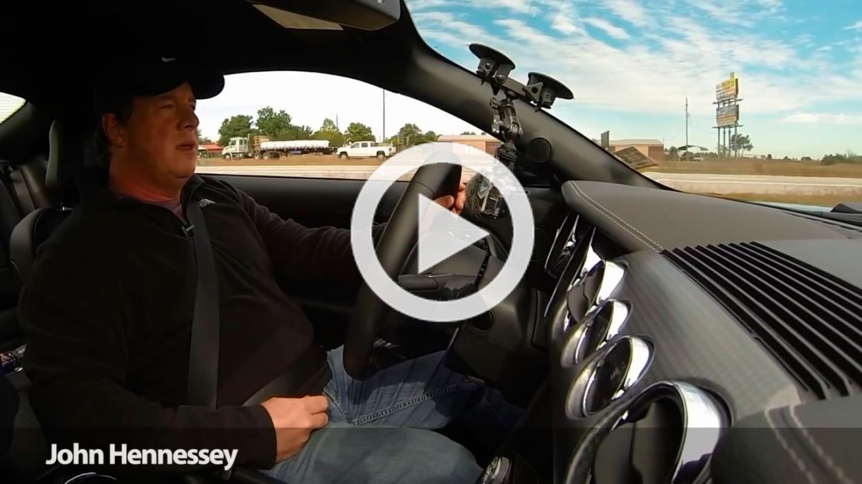 John Hennessey pone a 240 km/h el nuevo Ford Mustang 2015