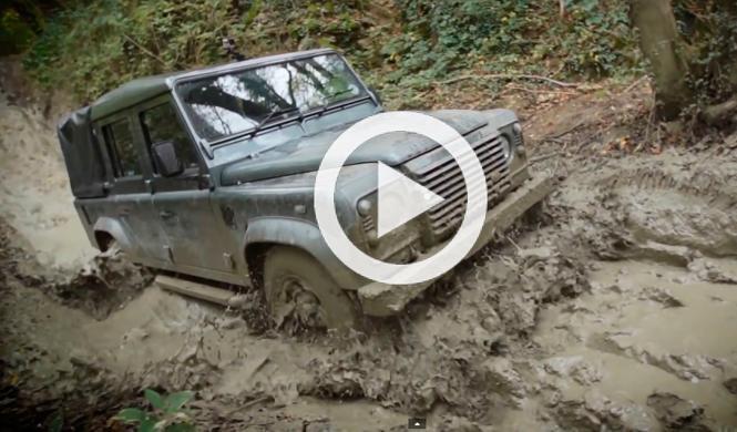 Vídeo: así se conduce el Land Rover Defender por el campo