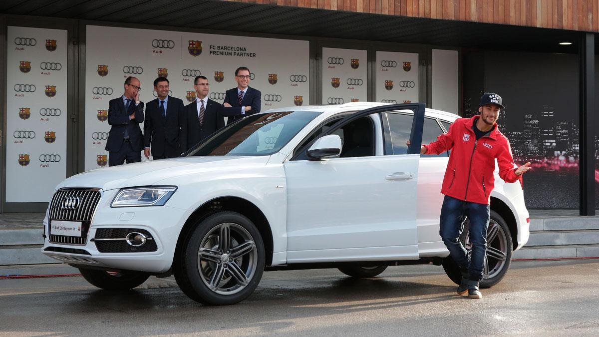 Neymar recibe Audi Q5