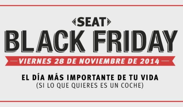 Seat inventa el Black Friday de coches