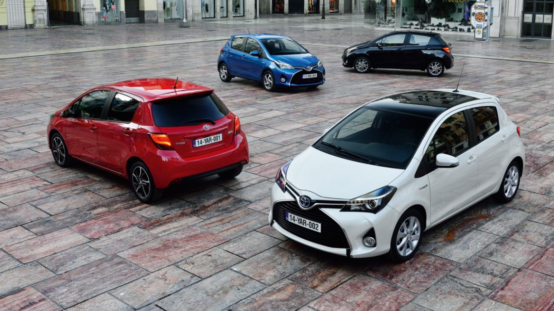Colores Toyota