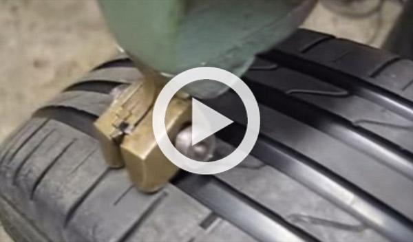Cómo convierten unos neumáticos usados en unos casi nuevos