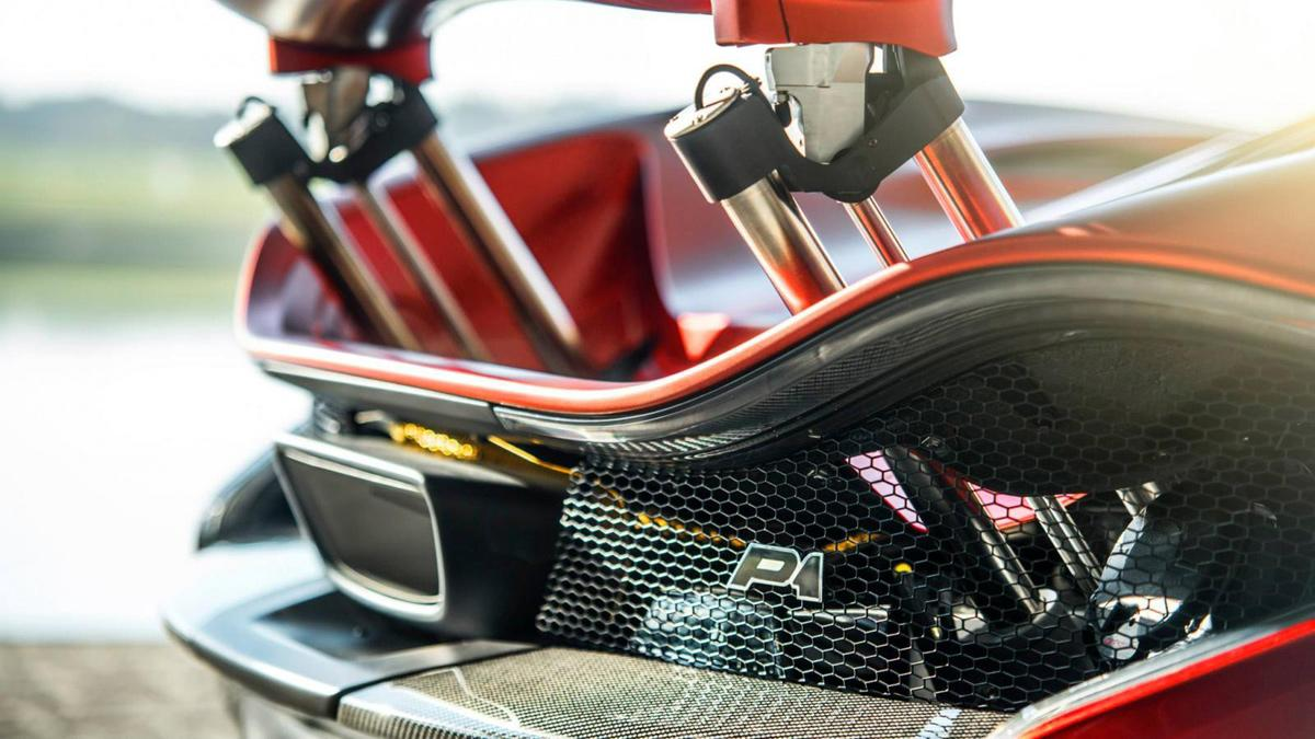 McLaren P1 MSO zaga