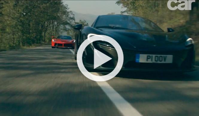 Vídeo: Ferrari LaFerrari contra McLaren P1
