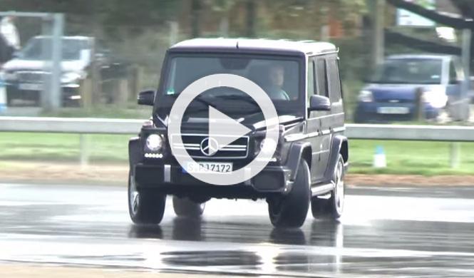 Vídeo: driftando con el brutal Mercedes G63 AMG