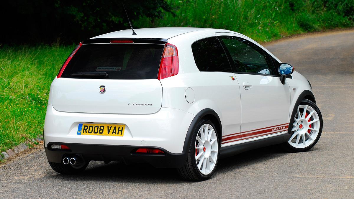 Fiat Abarth Grande Punto trasera