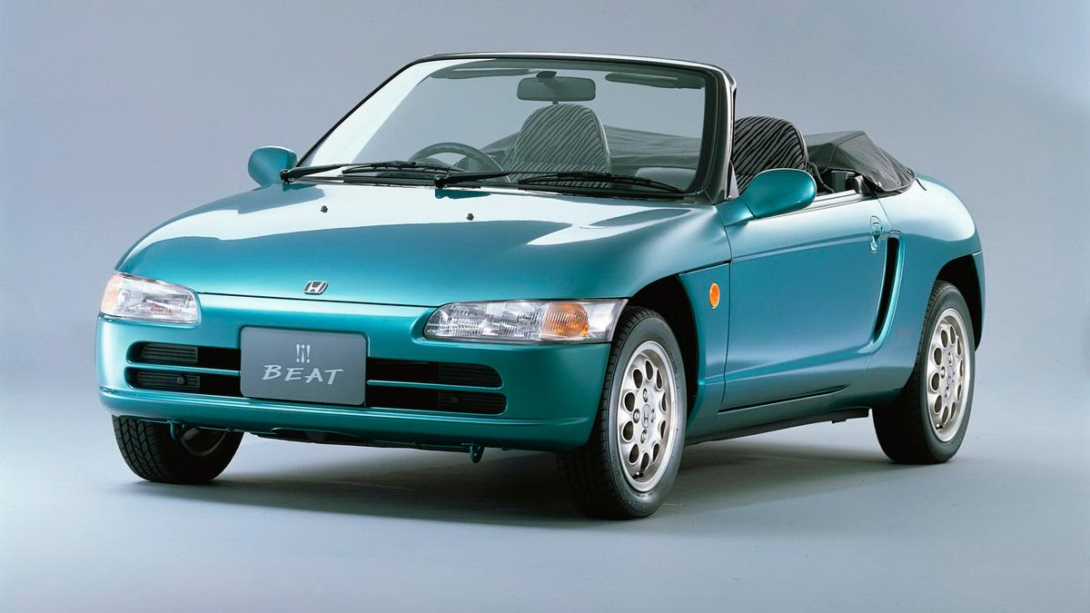 Honda Beat - frontal