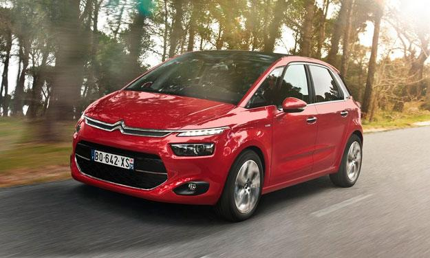 Misterioso Citroën C4 Picasso, ¿nueva variante off-road?