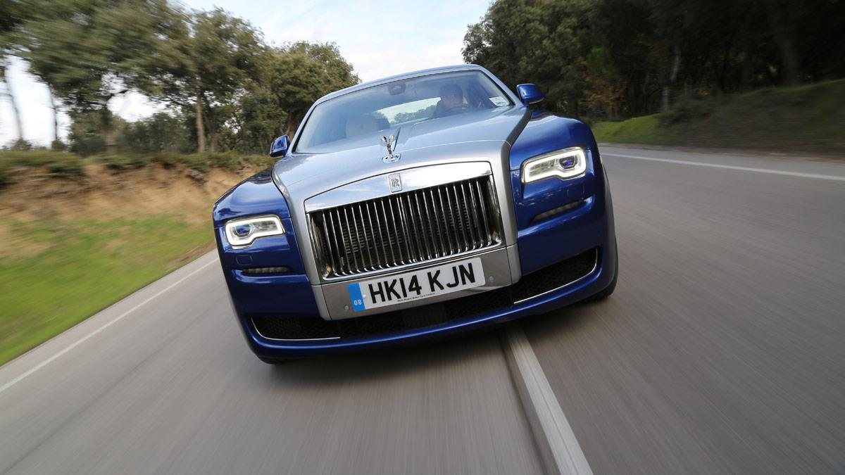 Rolls-Royce Ghost Series II frontal