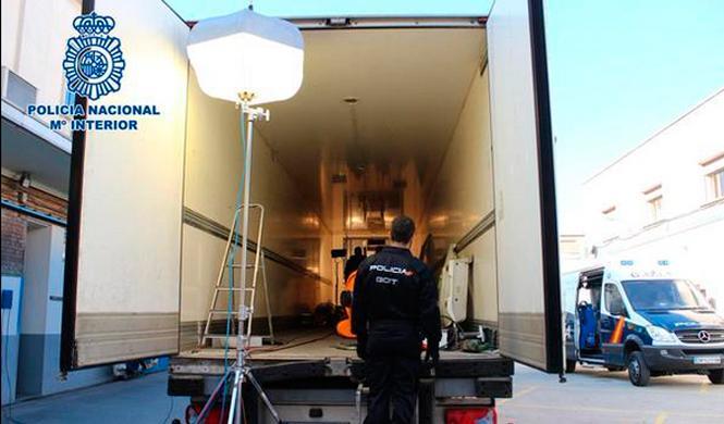 Se incautan del mayor alijo de MDMA de España en un camión