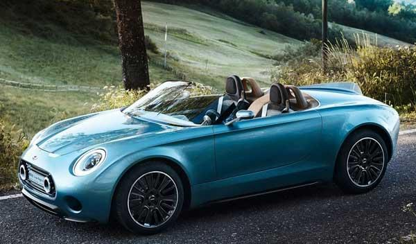 Mini patenta una versión roadster del SuperLeggera Vision