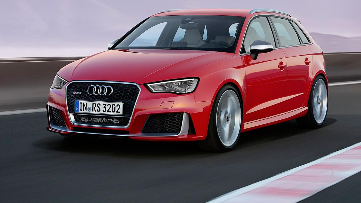 Audi RS3 Sportback 2015 - movimiento