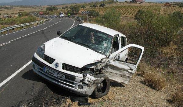 Madrid registra 113 accidentes de tráfico en 12 horas