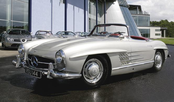 Sale a la venta un precioso Mercedes 300SL Roadster de 1958