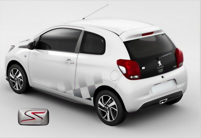 Peugeot 108 Línea S: deportividad a tu gusto