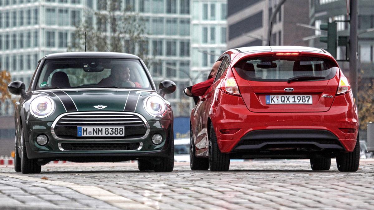 Comparativa Ford Fiesta Sport vs Mini Cooper