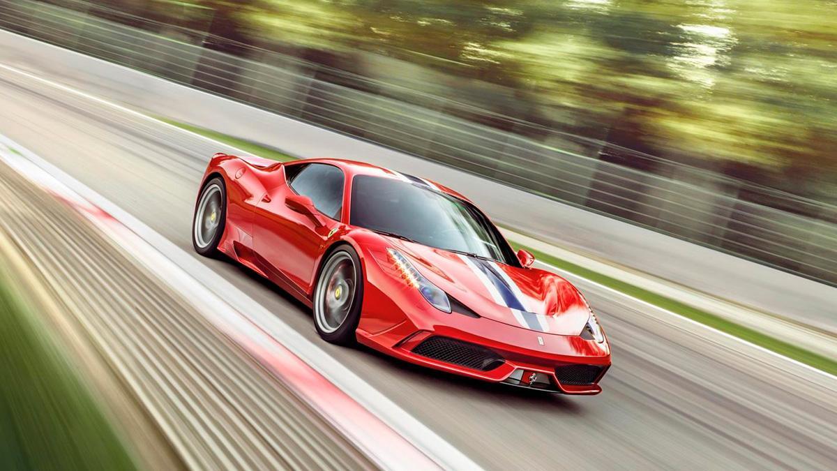 Ferrari 458 Speciale delantera