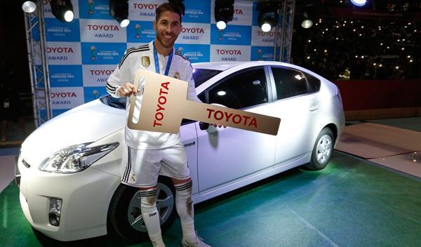 Sergio Ramos, un Prius por ser el mejor del Mundialito