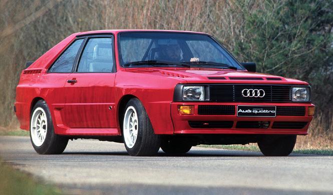 Sale a subasta un Audi Sport Quattro casi sin estrenar