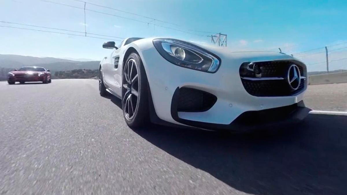 Mercedes AMG GT S - delantera