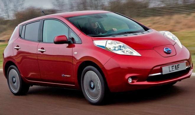 Nissan espera conseguir un récord en 2015 con el Leaf