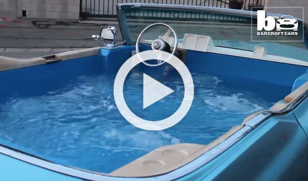 Vídeo: Convierten un Cadillac Deville del 69 en un jacuzzi