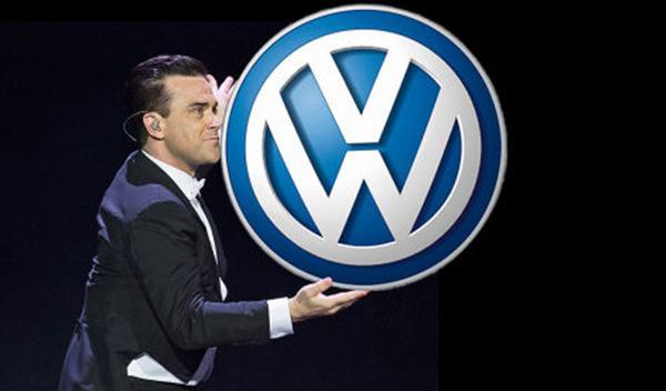 Robbie Williams... ¿Director de Marketing de Volkswagen?
