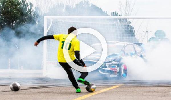Footkhana: el anuncio de Ken Block y Neymar
