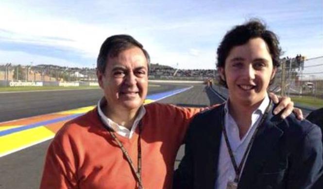El 'pequeño' Nicolás también se coló en el GP de Valencia