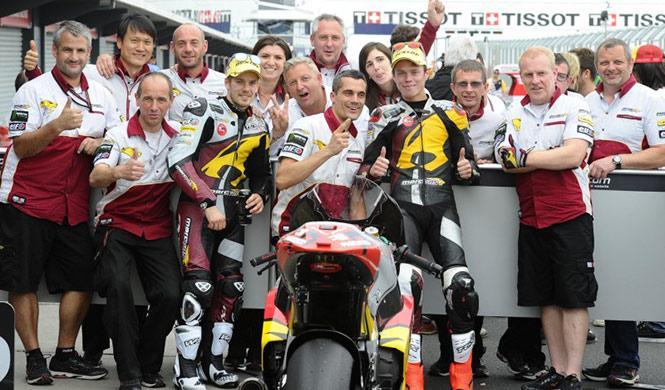 Parrilla de salida Moto2 GP Malasia 2014