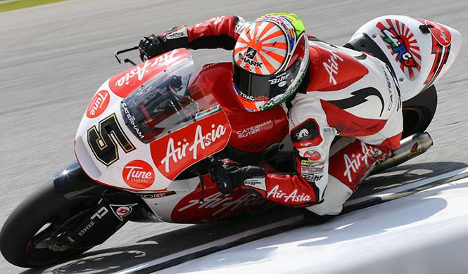 Libres 1 Moto2 GP Valencia 2014: Johann Zarco, primero