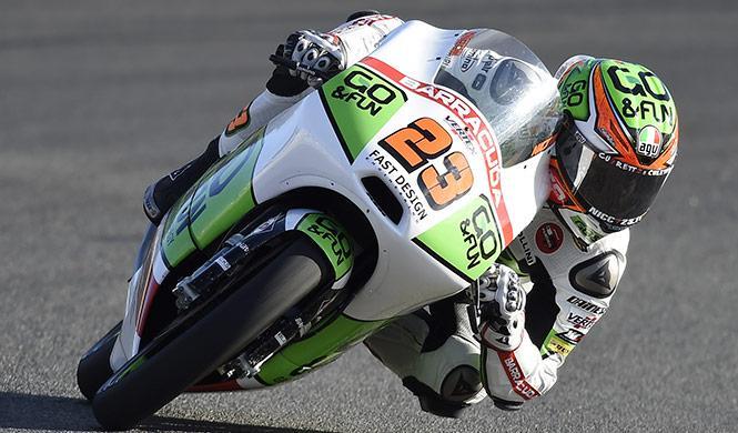 Clasificación Moto3 GP Valencia 2014: pole de Antonelli