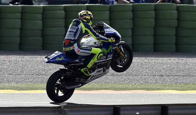 Clasificación MotoGP Valencia 2014: primera pole para Rossi