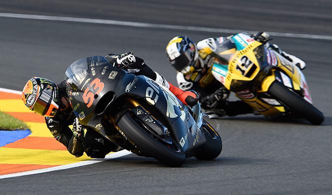 Carrera Moto2 GP Valencia 2014: Rabat regala la victoria