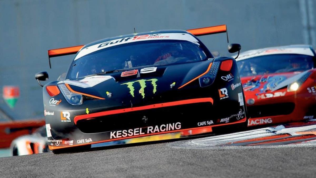Jorge Lorenzo gana las 12 Horas de Abu Dhabi con Ferrari