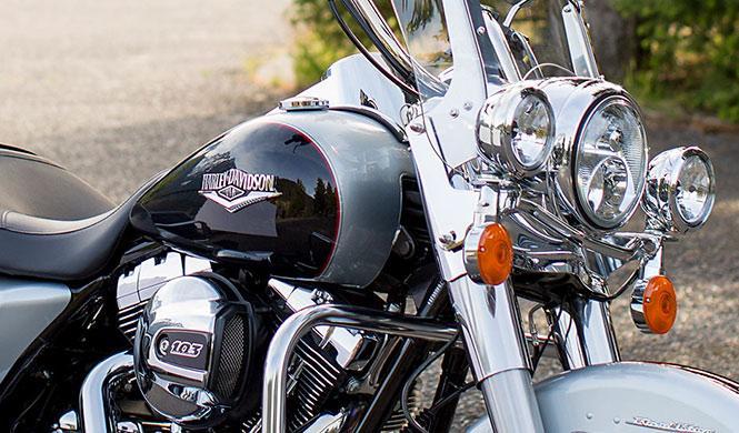 Subastadas siete motos de 'Los Ángeles del Infierno'
