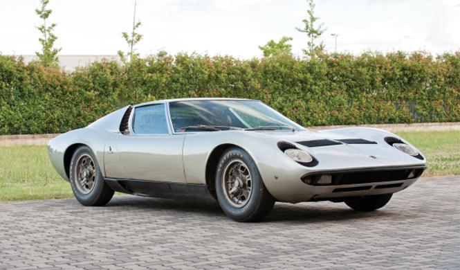 Sale a subasta un precioso Lamborghini Miura P400S de 1970