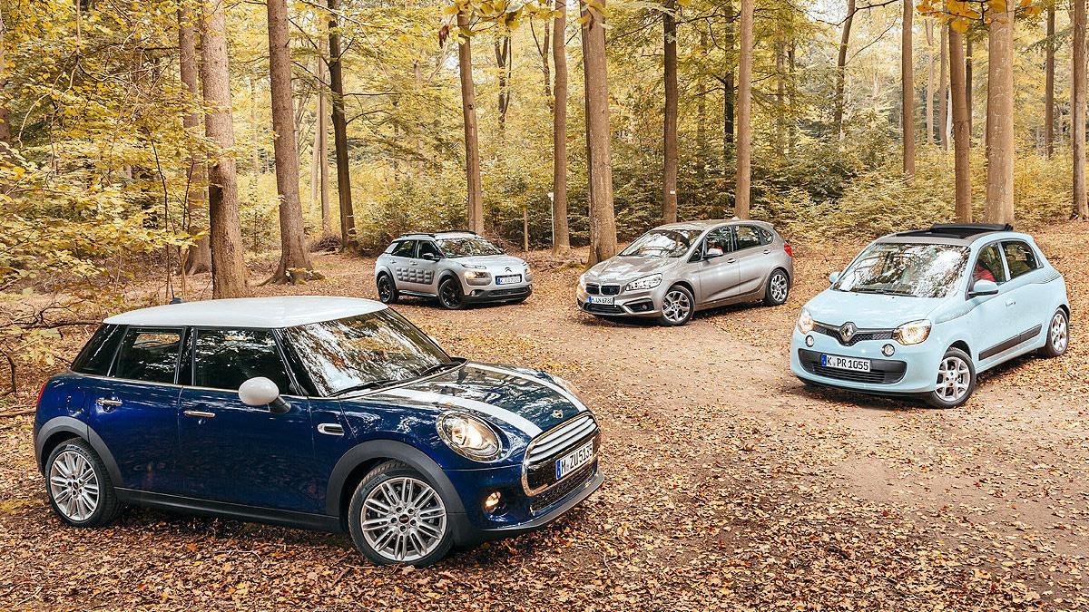Cuatro coches con ese 'algo' que los hace únicos.
