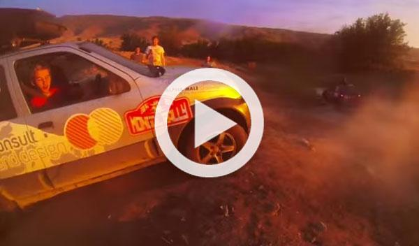 Vídeo: se cruzan medio mundo con un Nissan Micra