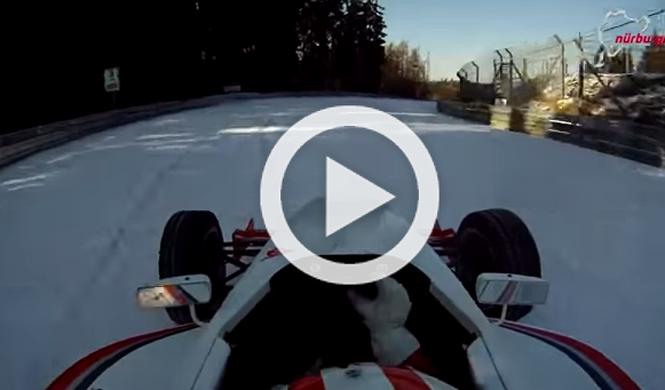 Vuelta a un Nürburbring helado y al volante de un Fórmula