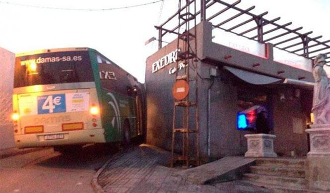 Roban un autobús en Sevilla ¿para irse de copas?