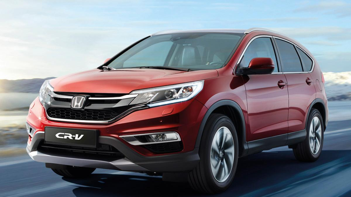 Honda CR-V 2015 - Frontal en movimiento