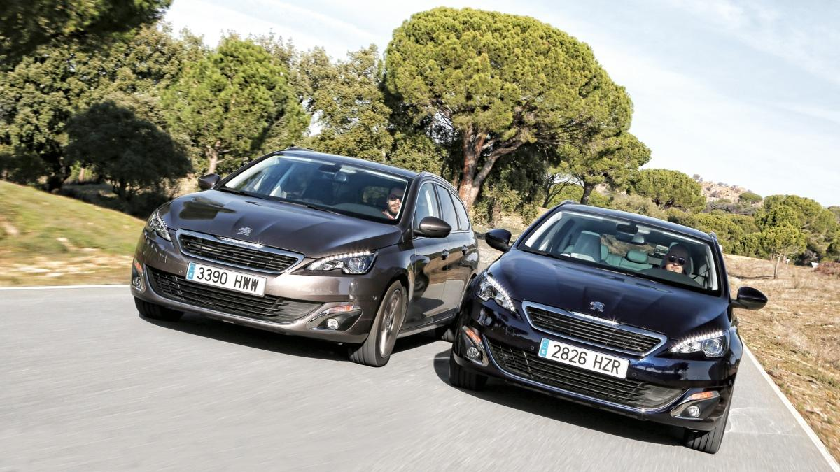 Peugeot 308 apertura