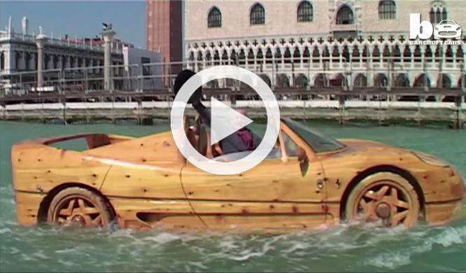 Vídeo: este Ferrari F50 de madera te dejará alucinado