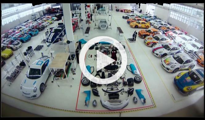 Vídeo: Cómo se monta un Porsche 911 GT3 Cup