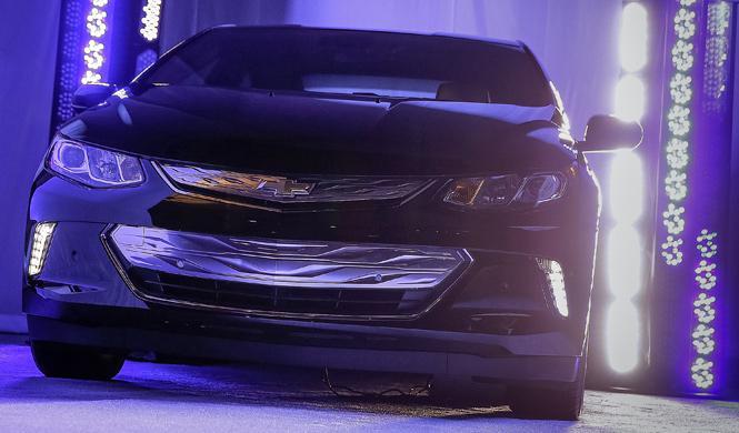 El Chevrolet Volt 2016 es presentado en el CES 2015